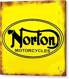 Norton Motorcycles Acrylic Print by Mark Rogan