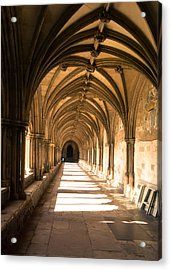 Norwich Cathedral Portico  Acrylic Print