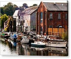 Norwich River Acrylic Print