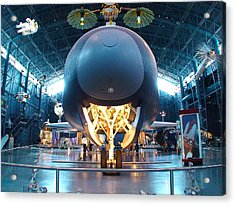 Acrylic Print featuring the photograph Nose Down - Enterprise by Charles Kraus