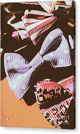 Nostalgia In The Fashion Isle Acrylic Print