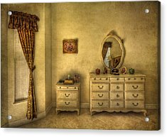Nostalgic Harmonies  Acrylic Print by Evelina Kremsdorf