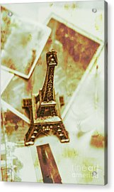 Nostalgic Mementos Of A Paris Trip Acrylic Print by Jorgo Photography - Wall Art Gallery