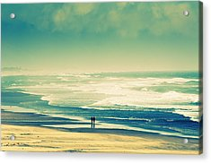 Nostalgic Oceanside Oregon Coast Acrylic Print