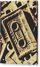 Nostalgic Sound Acrylic Print