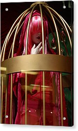 Not A Beast To Be Caged Acrylic Print by Jez C Self