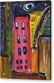 Not A Common City Night Acrylic Print