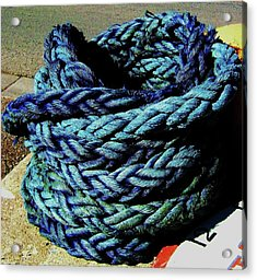 Acrylic Print featuring the photograph Not A Knot by Cyryn Fyrcyd