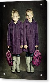Not In The Mood For School! Acrylic Print