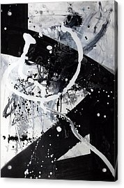 Not Just Black And White2 Acrylic Print
