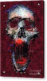 Acrylic Print featuring the digital art Not Me by Rafael Salazar