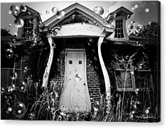 Not So Fun House Acrylic Print by Melissa Wyatt