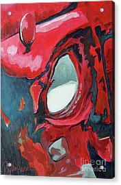 Not So High Beam Acrylic Print by Phyllis Howard