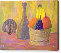 Not So Still Life Number One Acrylic Print by Ricky Gagnon