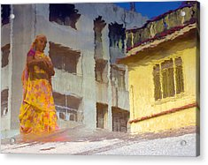 Acrylic Print featuring the photograph Not Sure by Prakash Ghai