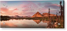 Notch Lake Panorama Acrylic Print by Johnny Adolphson