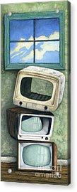 Nothing On Tv Acrylic Print
