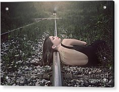 Nothing To Lose Acrylic Print by Evelina Kremsdorf