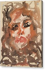 Noto I Acrylic Print by Khalid Alzayani