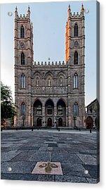 Notre-dame Basilica Fleur-de-lis  Acrylic Print by James Wheeler