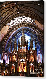 Notre Dame Ceiling Acrylic Print