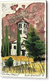 Notre Dame D'aubune Acrylic Print by Martin Stankewitz