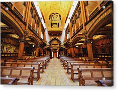 Notre Dame De Montreal Basilica Acrylic Print by Mountain Dreams