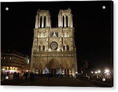 Notre Dame De Paris Acrylic Print by Erik Tanghe