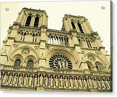 Notre Dame De Paris Acrylic Print by JAMART Photography