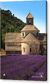 Notre-dame De Senanque  Abbey Provence France Acrylic Print