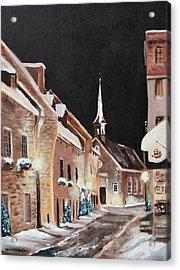 Notre Dame Des Victoires Acrylic Print by Michael McGrath