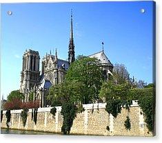 Notre Dame Acrylic Print by Hans Jankowski