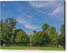 Acrylic Print featuring the photograph Notre Dame University 6 by David Haskett