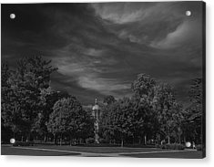 Acrylic Print featuring the photograph Notre Dame University 6a by David Haskett