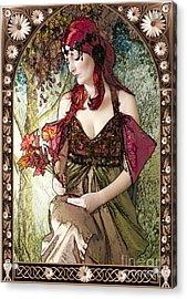 Nouveau Acrylic Print by John Edwards
