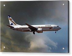 Novair Boeing 737-85f Acrylic Print