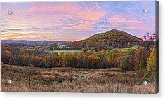 November Glowing Sky Acrylic Print