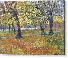 November In Hyde Park Acrylic Print