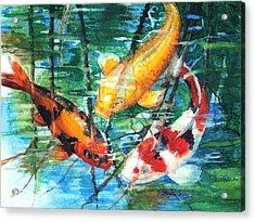 November Koi Acrylic Print