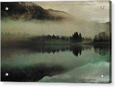 November Lake Acrylic Print