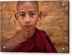 Acrylic Print featuring the photograph Novice by Marji Lang