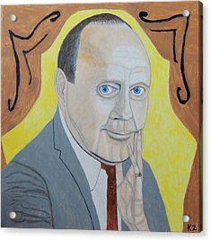 Now Cut That Out. Jack Benny. Acrylic Print