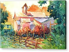 Now It's A Winery No. 1 Acrylic Print by Virgil Carter