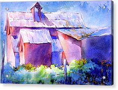 Now It's A Winery, No. 2 Acrylic Print by Virgil Carter