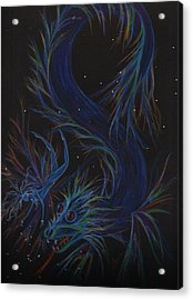 Now We Can Just Play Acrylic Print by Dawn Fairies