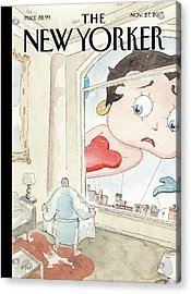 Nowhere To Hide Acrylic Print by Barry Blitt