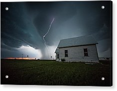 Acrylic Print featuring the photograph Nowhere To Run by Aaron J Groen