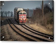 Ns 911 Heritage Unit At Princeton In Acrylic Print