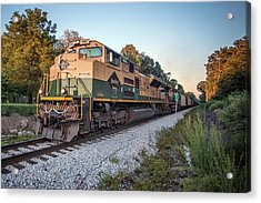 Ns Heritage Reading Lines Heritage Unit At Sullivan In Acrylic Print