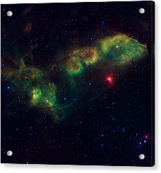 Nu Scorpii Or Jabbah V Sco, 14 Scorpii A Star System In The Constellation Scorpius Acrylic Print by American School